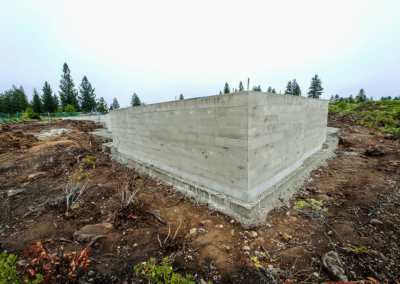 Structural concrete foundation by OR. CONCRETE INC.