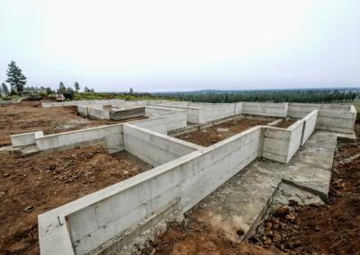 Structural concrete foundation by OR. CONCRETE INC.