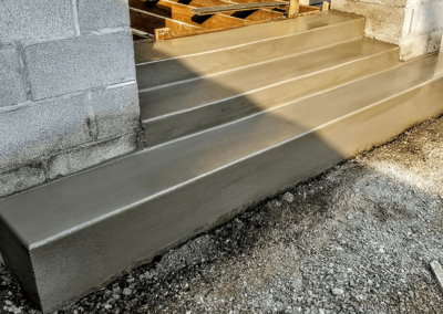 Concrete Staircase | OR. CONCRETE INC.