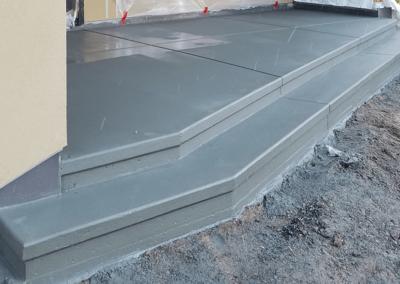 Concrete Staircase | OR. CONCRETE INC.