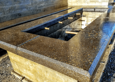Polished and honed concrete   OR. CONCRETE INC.